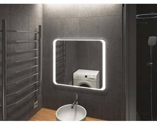 Зеркало в ванну комнату с подсветкой Болона