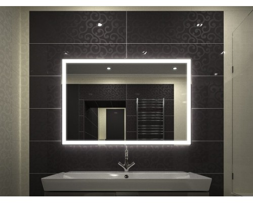 Зеркало в ванную с подсветкой Валентин